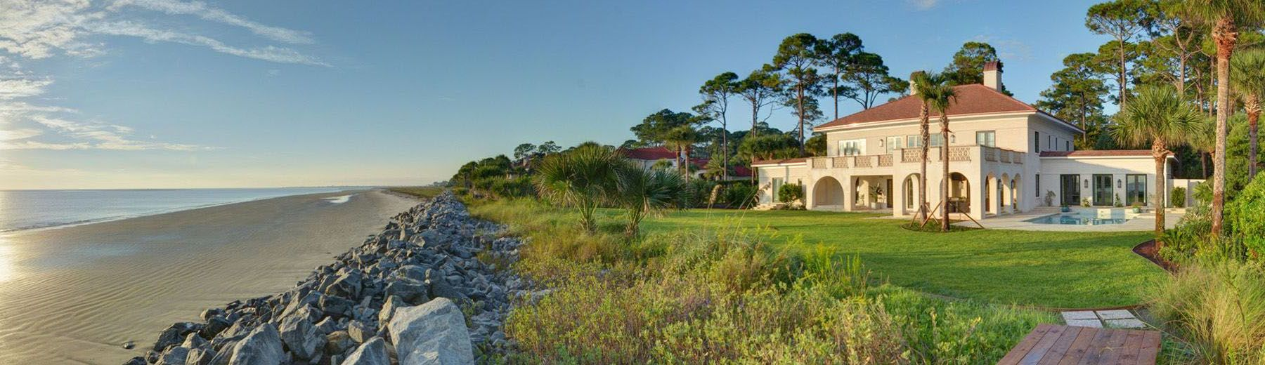 Sea Island Cottages by the Atlantic Ocean
