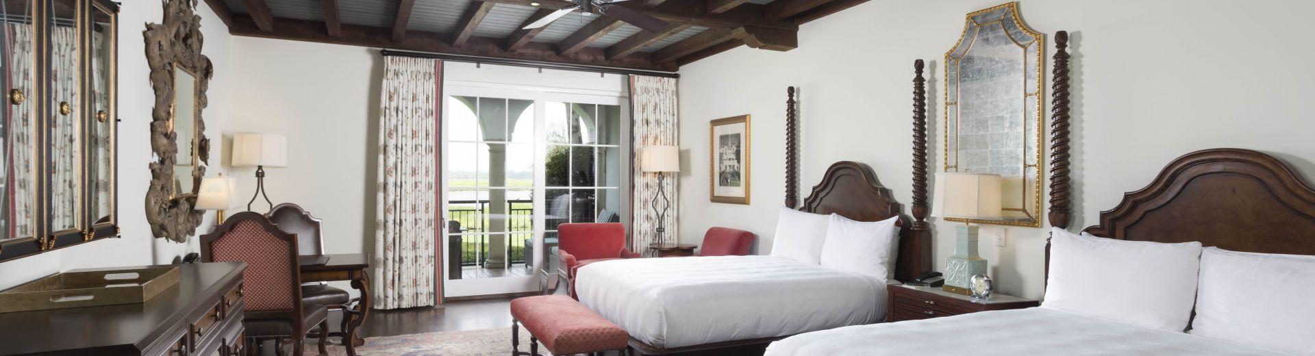 Luxurious Double Queen Room
